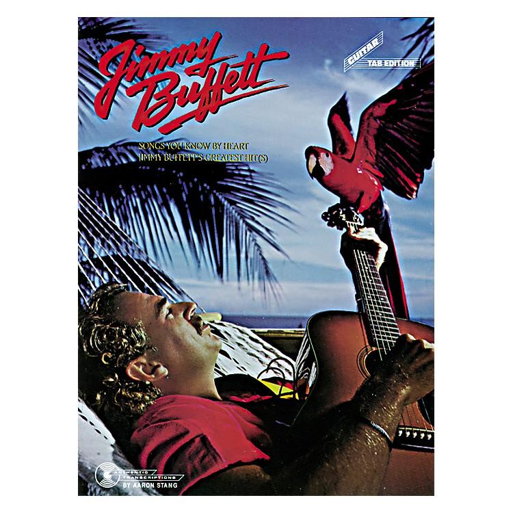 AlfredJimmy Buffett Songs You Know Guitar Tab Book
