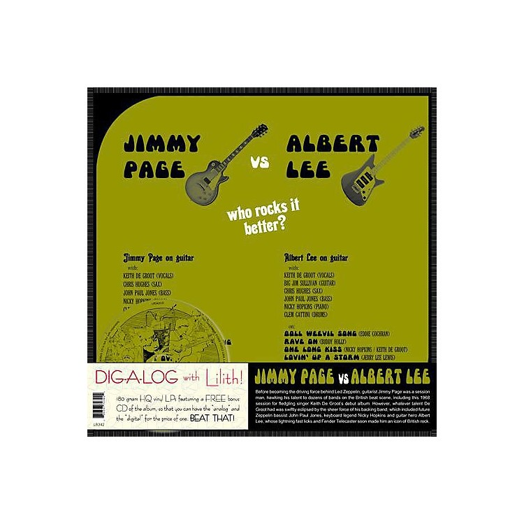 Alliance Jimmy Page - Jimmy Page vs. Albert Lee