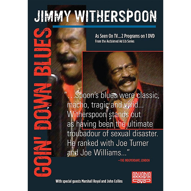 Hal LeonardJimmy Witherspoon - Goin' Down Blues (Visions of Jazz Series) DVD Series DVD by Jimmy Witherspoon