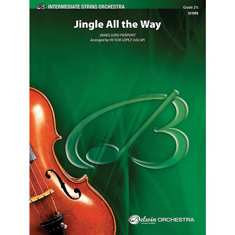 AlfredJingle All the Way String Orchestra Grade 2.5