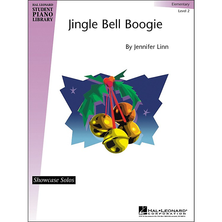 Hal LeonardJingle Bell Boogie Elementary Level 2 Showcase Solos Hal Leonard Student Piano Library by Jennifer Linn