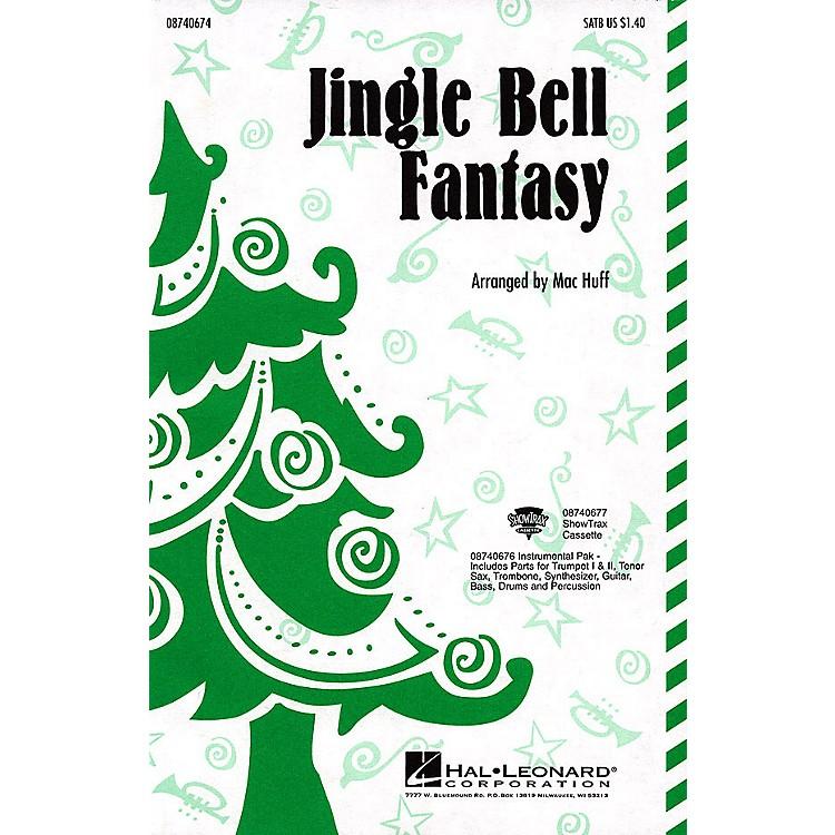 Hal LeonardJingle Bell Fantasy SATB arranged by Mac Huff