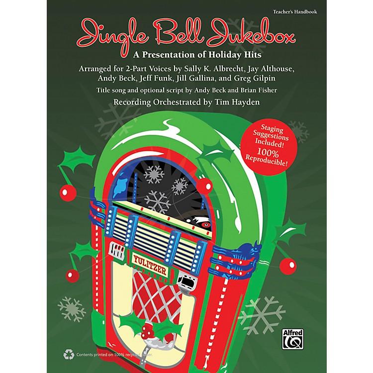 AlfredJingle Bell Jukebox Book & CD
