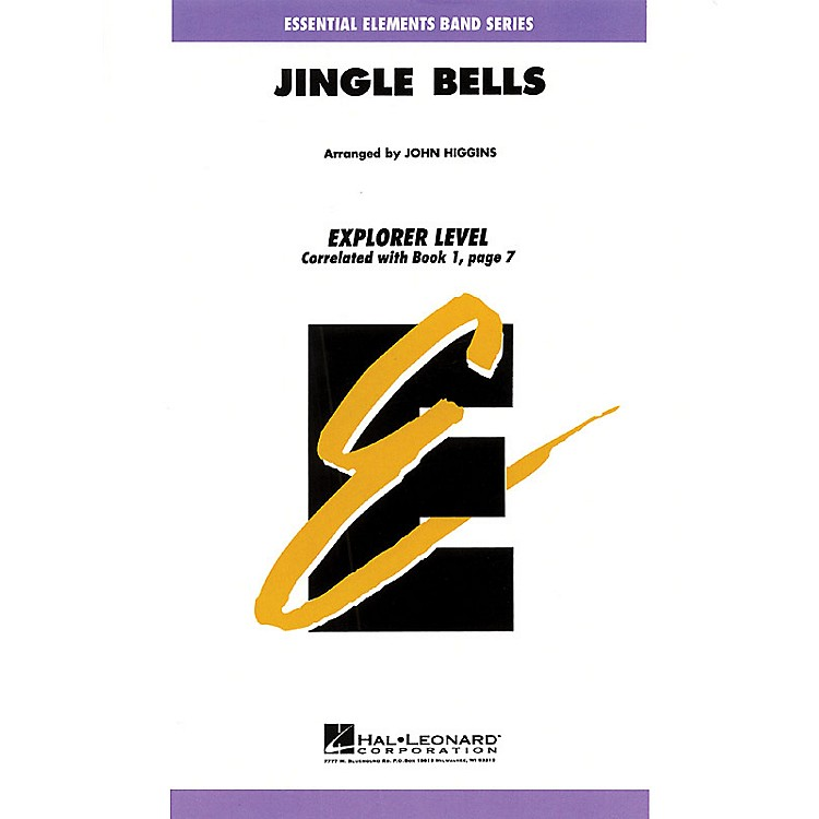 Hal LeonardJingle Bells Concert Band Level 0.5 Arranged by John Higgins