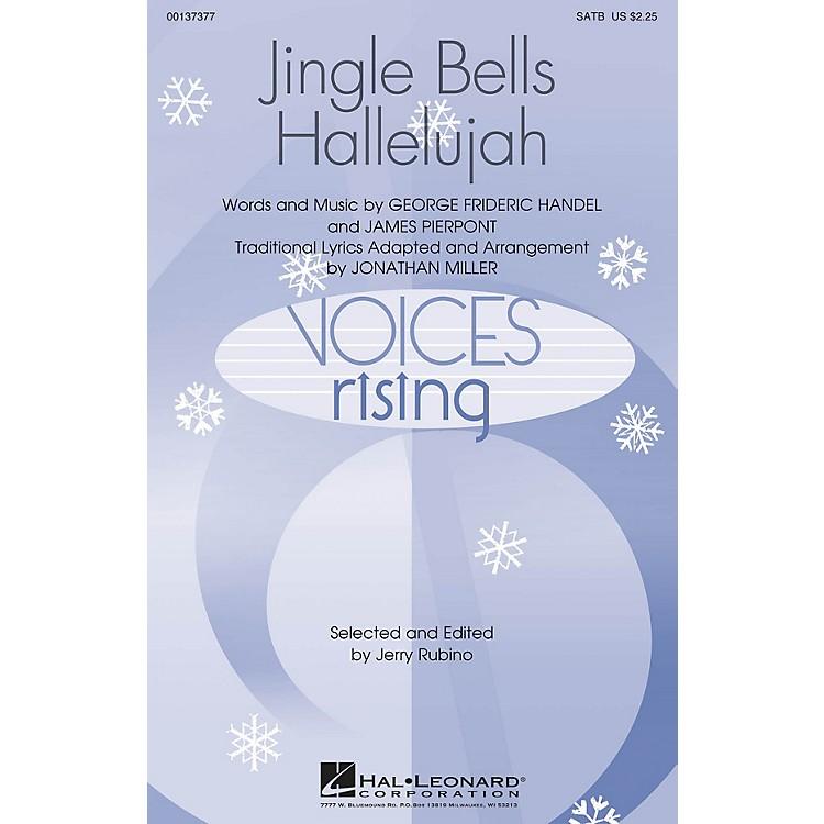 Hal LeonardJingle Bells Hallelujah SATB arranged by Jonathan Miller