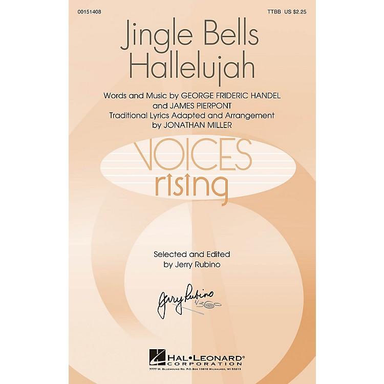 Hal LeonardJingle Bells Hallelujah TTBB arranged by Jonathan Miller