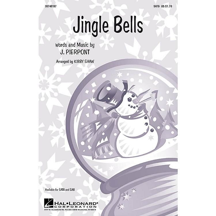 Hal LeonardJingle Bells SATB a cappella arranged by Kirby Shaw