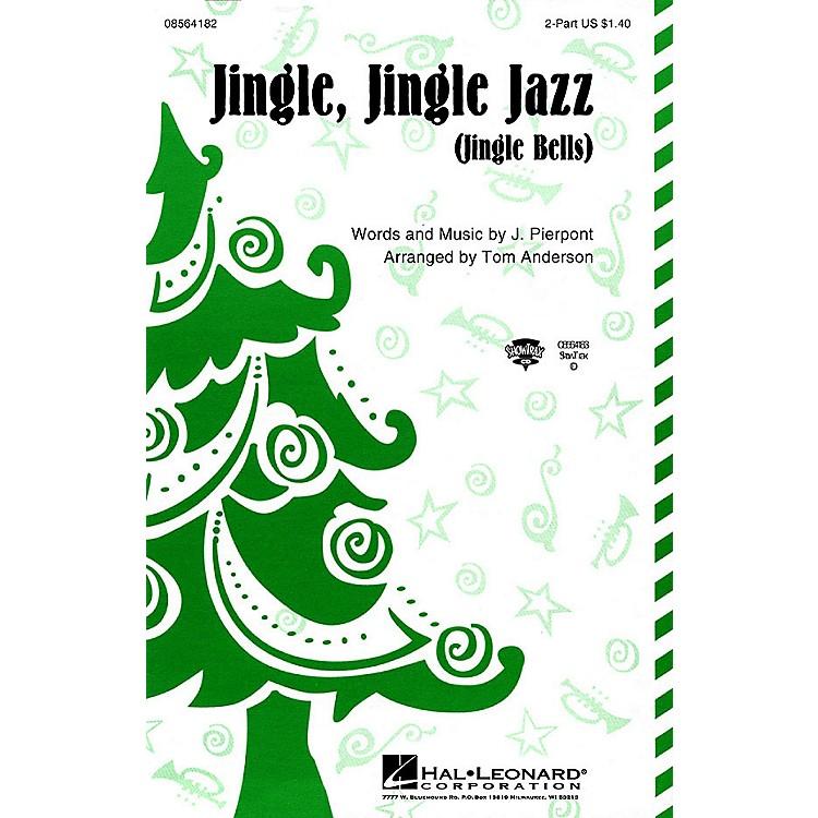 Hal LeonardJingle Jingle Jazz ShowTrax CD Arranged by Tom Anderson