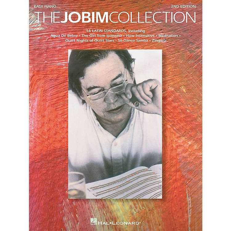 Hal Leonard Jobim Collection - 16 Latin Standards For Easy Piano