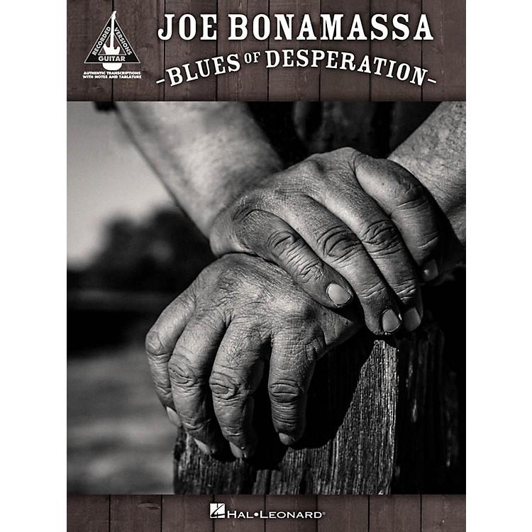 Hal LeonardJoe Bonamassa - Blues of Desperation Guitar Tab Songbook