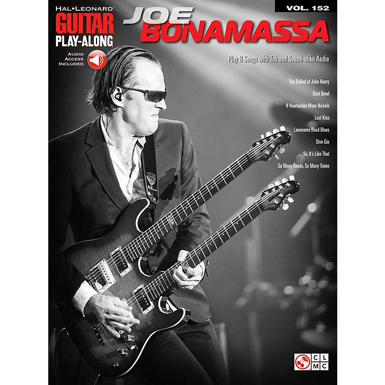 Cherry LaneJoe Bonamassa - Guitar Play-Along Volume 152 Book/Online Audio