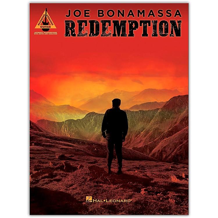 Hal LeonardJoe Bonamassa - Redemption Guitar Tab Songbook