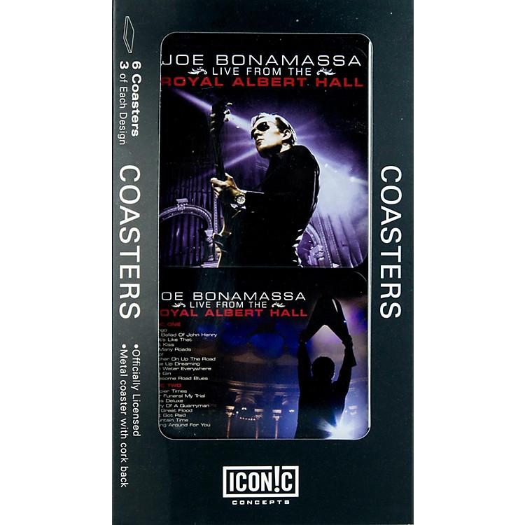 Iconic ConceptsJoe Bonamassa 6 piece Coaster Set - Royal Albert Hall in Tin Box