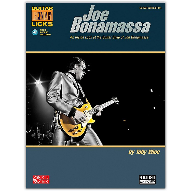 Cherry LaneJoe Bonamassa Legendary Licks Book/Online Audio