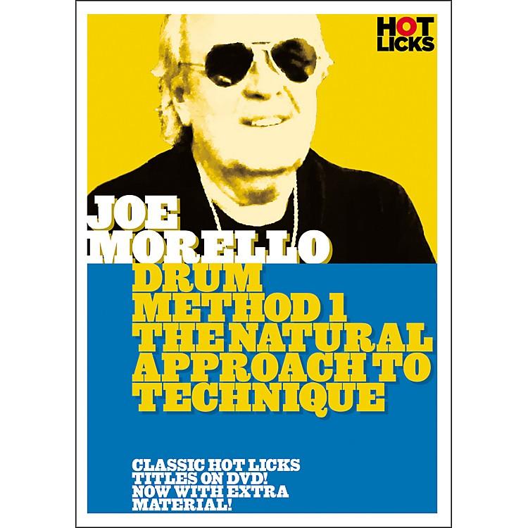 Hot LicksJoe Morello Drum Method 1: The Natural Approach to Technique (DVD)