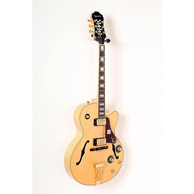 Epiphone Joe Pass Emperor-II PRO Electric Guitar Natural 888365833132