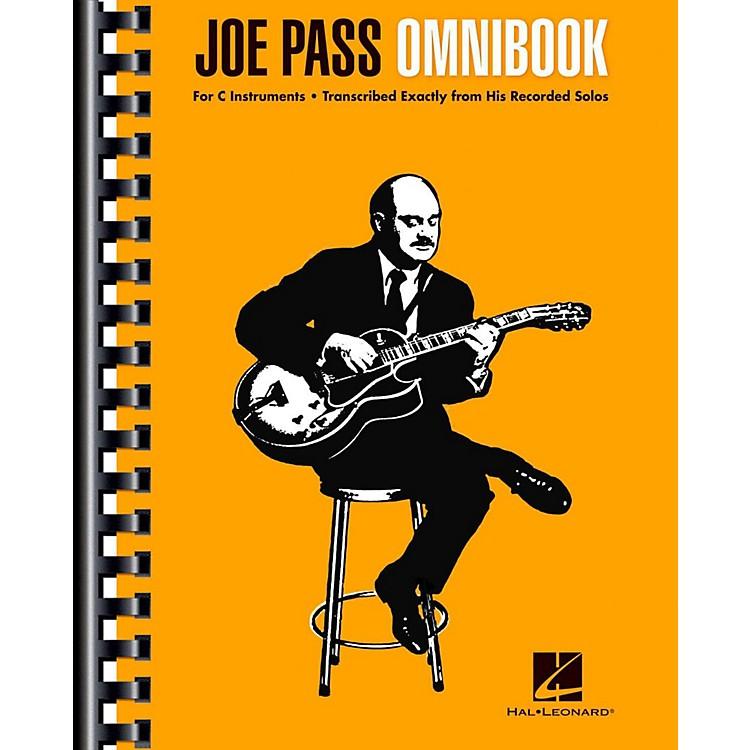 Hal LeonardJoe Pass Omnibook For C Instruments