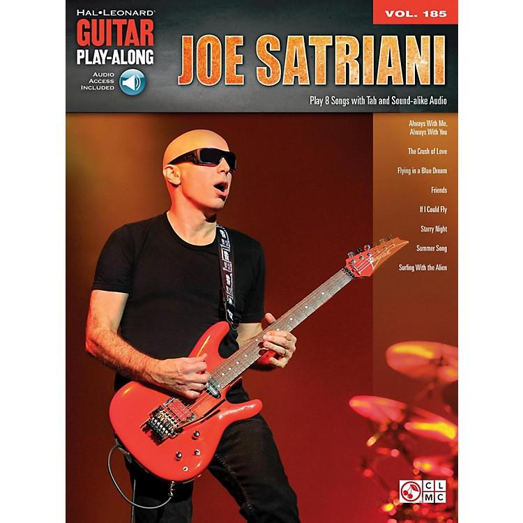 Hal LeonardJoe Satriani - Guitar Play-Along Vol. 185 Book/Audio Online