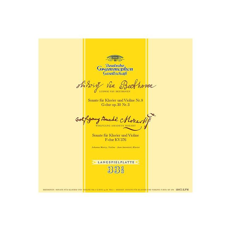 AllianceJohanna Martzy - Beethoven & Mozart Sonatas For Piano & Violin