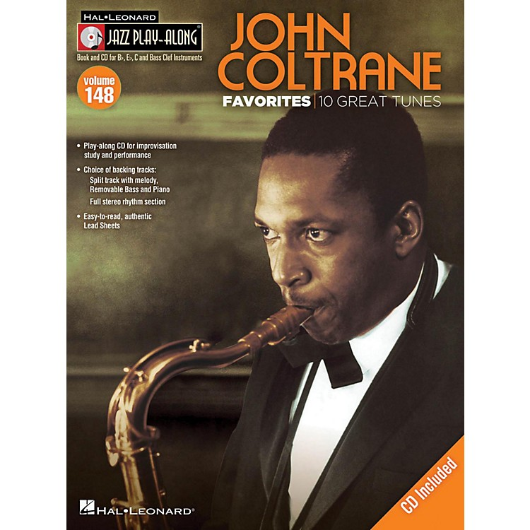 Hal Leonard John Coltrane Favorites - Jazz Play-Along Volume 148 Book/CD