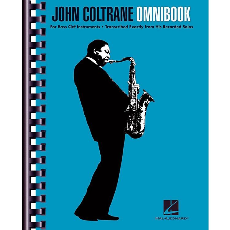 Hal LeonardJohn Coltrane Omnibook For Bass Clef Instruments