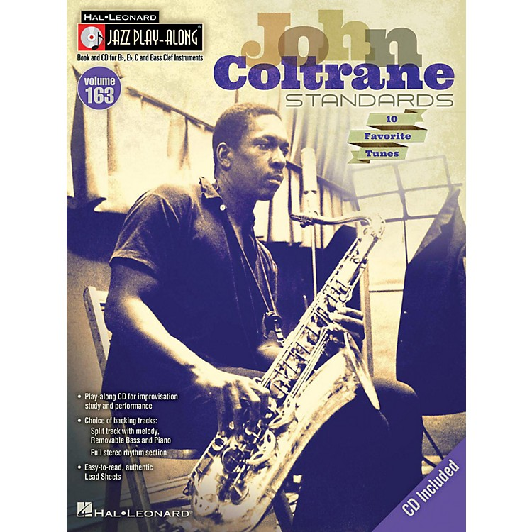 Hal LeonardJohn Coltrane Standards - Jazz Play-Along Volume 163 Book/CD
