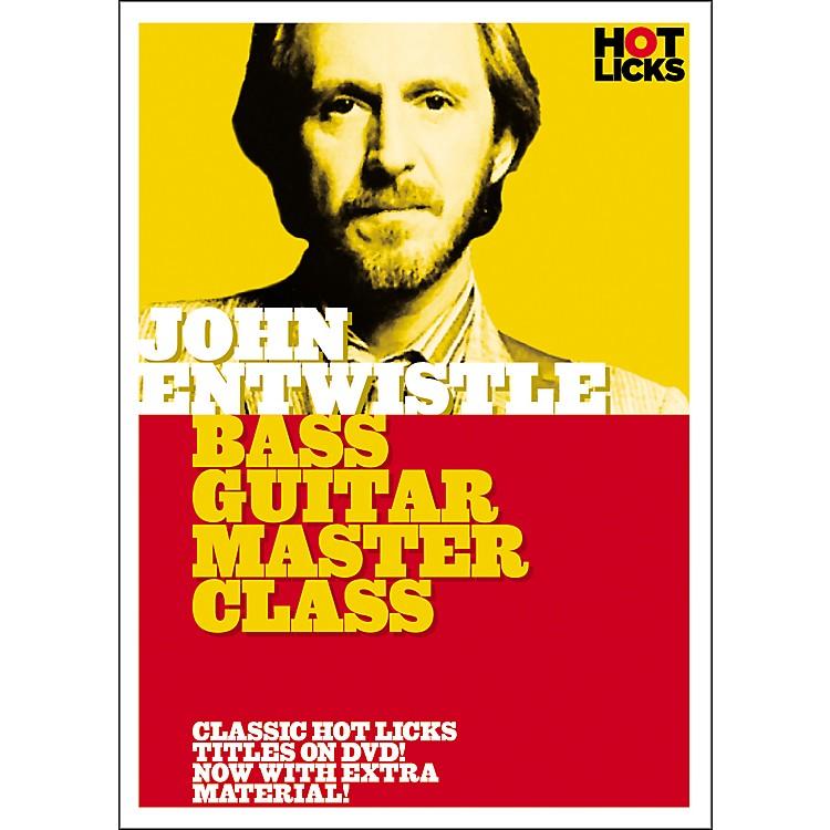 Hot LicksJohn Entwistle Bass Guitar Master Class (DVD)