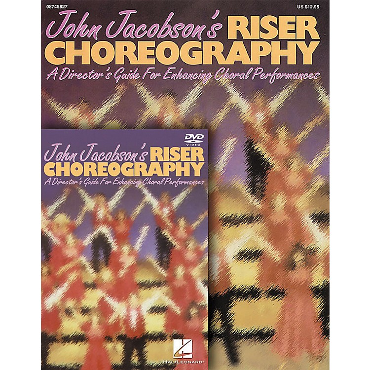 Hal Leonard John Jacobson's Riser Choreography Book And Video