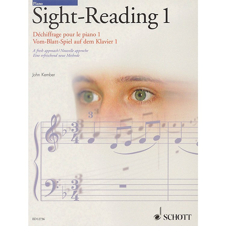 SchottJohn Kember - Piano Sight-Reading - Volume 1 (A Fresh Approach) Schott Series