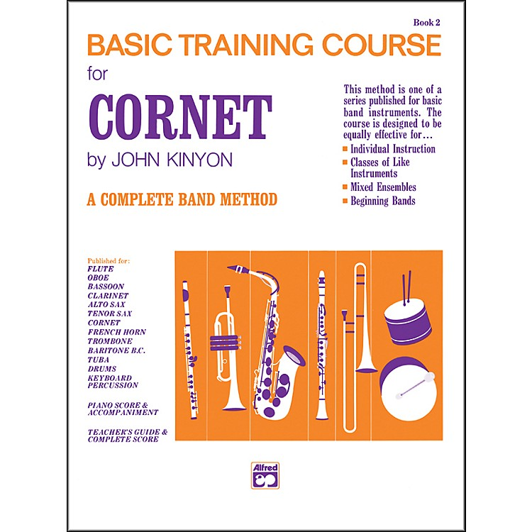 Alfred John Kinyon's Basic Training Course Book 2 Cornet