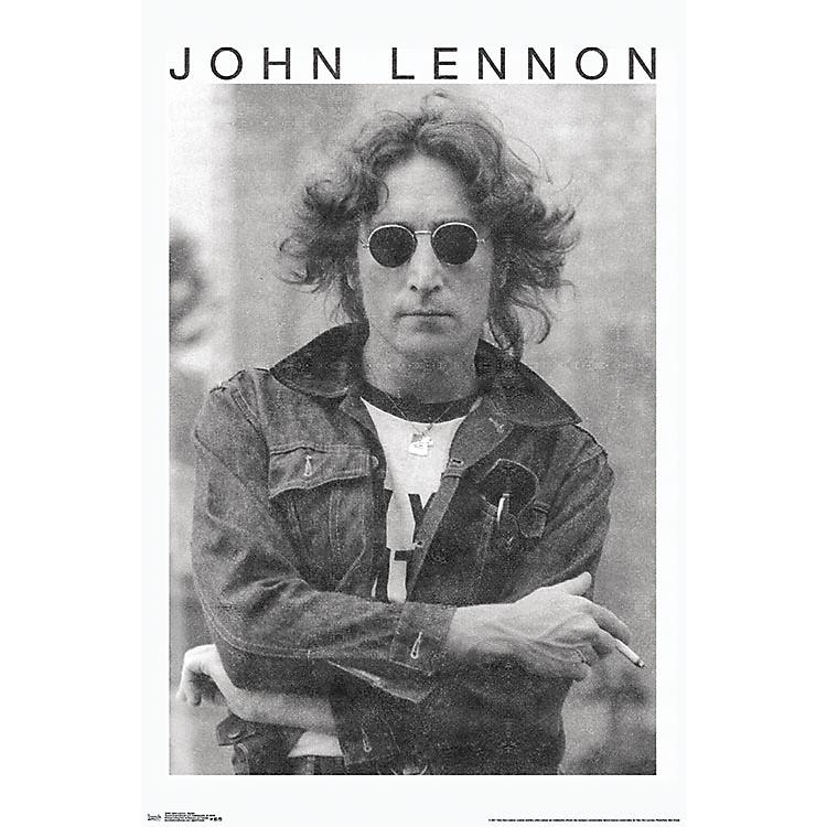 Trends InternationalJohn Lennon - Smoke PosterPremium Unframed
