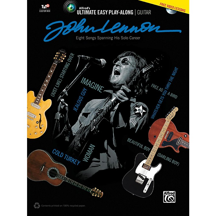 Alfred John Lennon - Ultimate Easy Guitar Play-Along Book & DVD