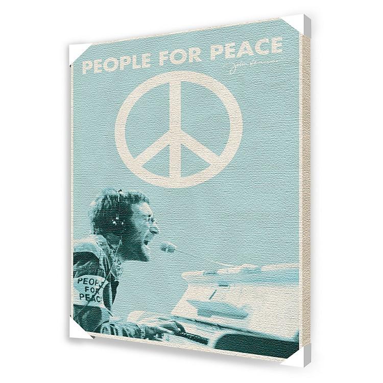 Ace FramingJohn Lennon People For Peace Framed Artwork
