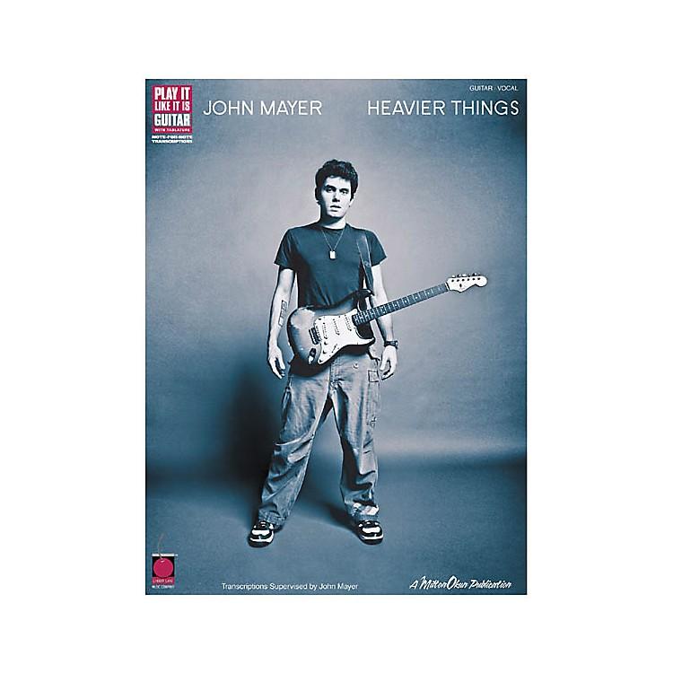 Cherry LaneJohn Mayer Heavier Things Guitar Tab Songbook
