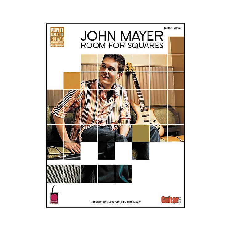 Cherry Lane John Mayer Room for Squares Guitar Tab Songbook