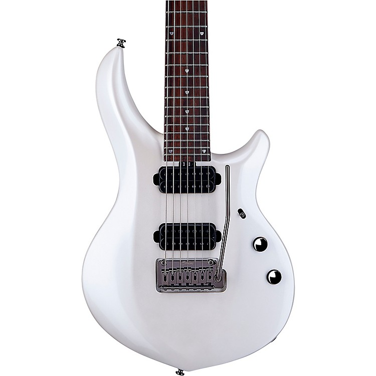 Sterling by Music ManJohn Petrucci Majesty 7-String Electric GuitarPearl White