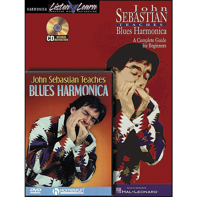 Hal LeonardJohn Sebastian Bundle Pack (Book/CD/DVD)