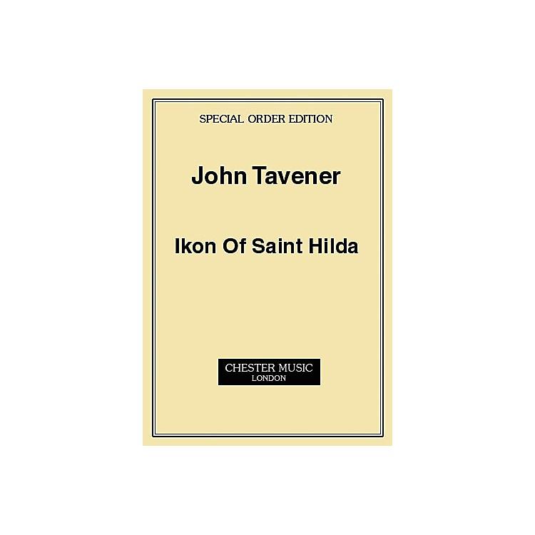 Music SalesJohn Tavener: Ikon Of Saint Hilda (Score) Music Sales America Series