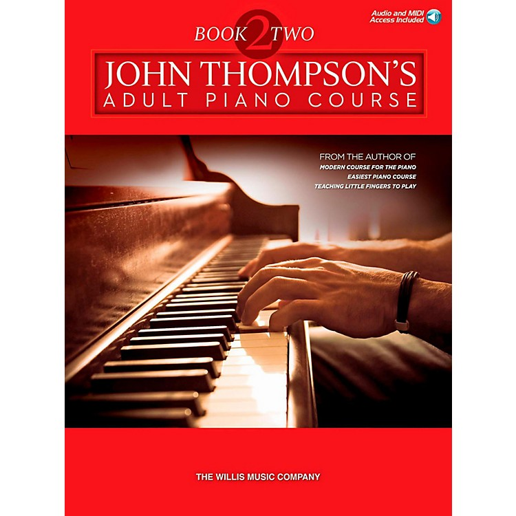 Hal LeonardJohn Thompson's Adult Piano Course - Book 2 Book/Online Audio