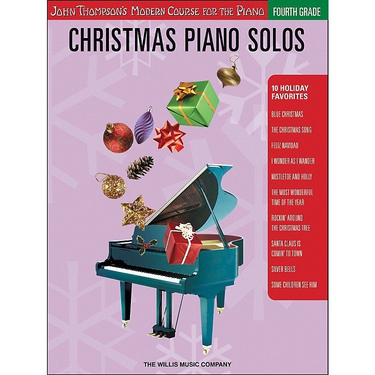 Willis MusicJohn Thompson's Modern Course for Piano - Christmas Piano Solos Fourth Grade