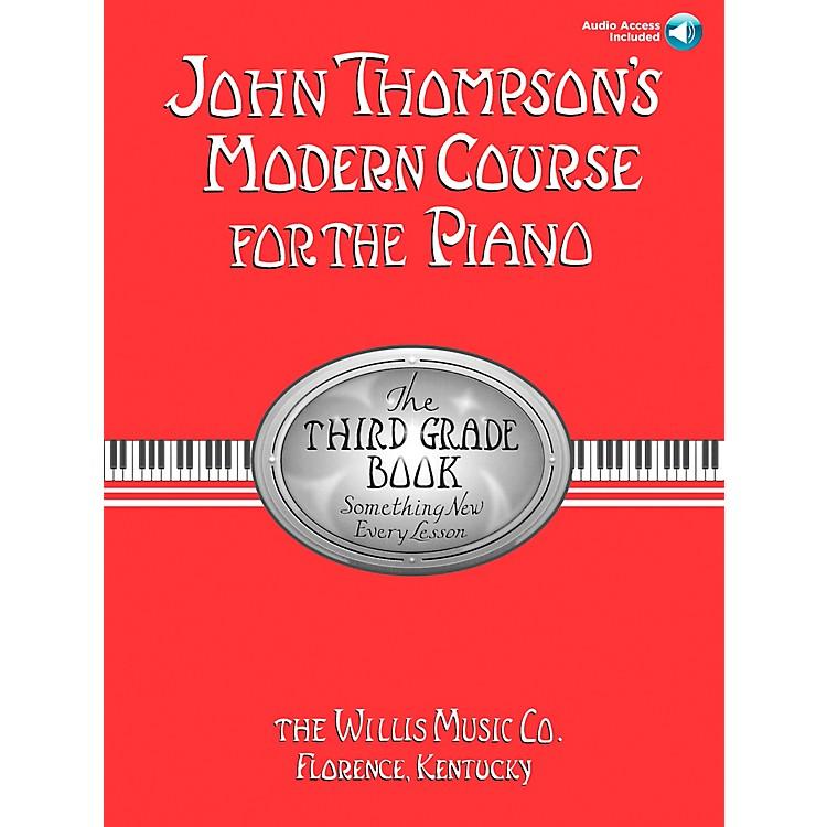 Willis MusicJohn Thompson's Modern Course for Piano Grade 3 Book/Online Audio