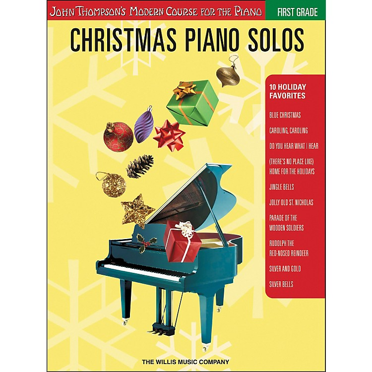 Willis MusicJohn Thompson's Modern Course for the Piano - Christmas Piano Solos First Grade