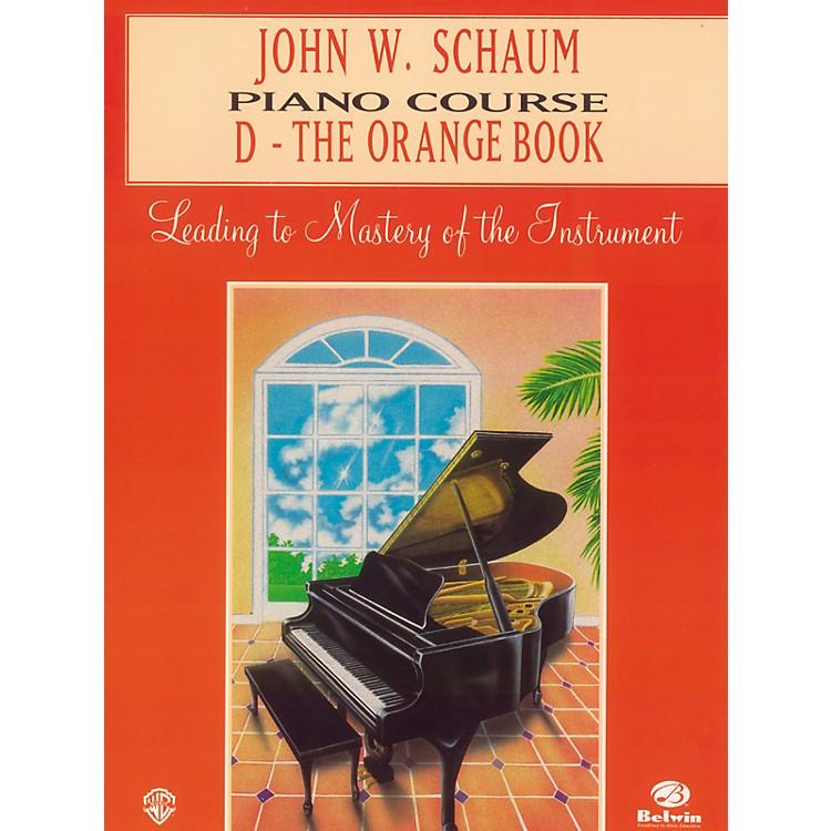 AlfredJohn W. Schaum Piano Course D The Orange Book