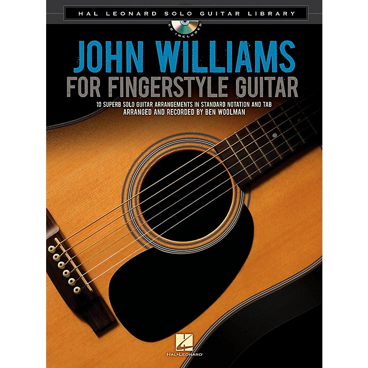 Hal Leonard John Williams For Solo Fingerstyle Guitar - Hal Leonard Solo Guitar Library Book/CD