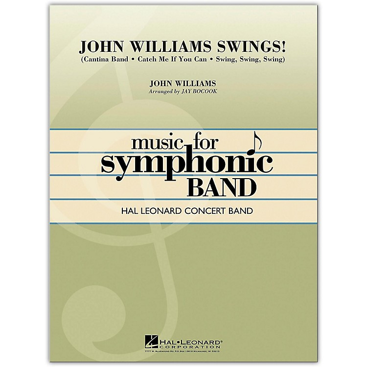 Hal LeonardJohn Williams Swings! Concert Band Level 4