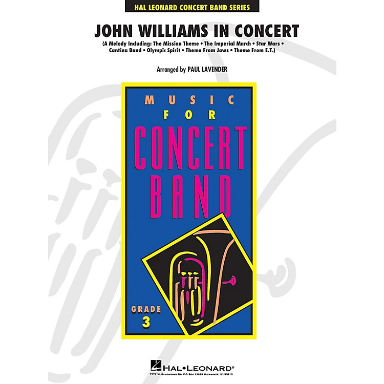 Hal LeonardJohn Williams in Concert - Young Concert Band Series Level 3 arranged by Paul Lavender