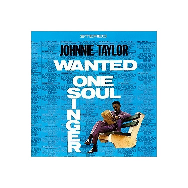 Alliance Johnnie Taylor - Wanted One Soul Singer