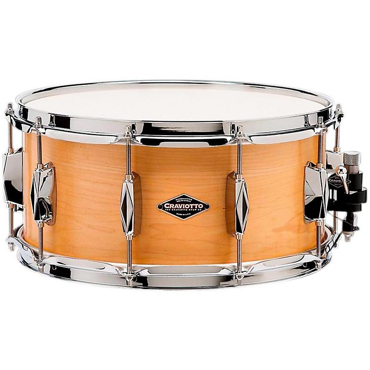 CraviottoJohnny C Solid Maple Snare Drum14x6.5 Inch