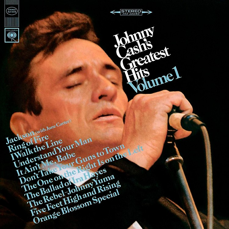 RED Johnny Cash - Johnny Cash's Greatest Hits LP