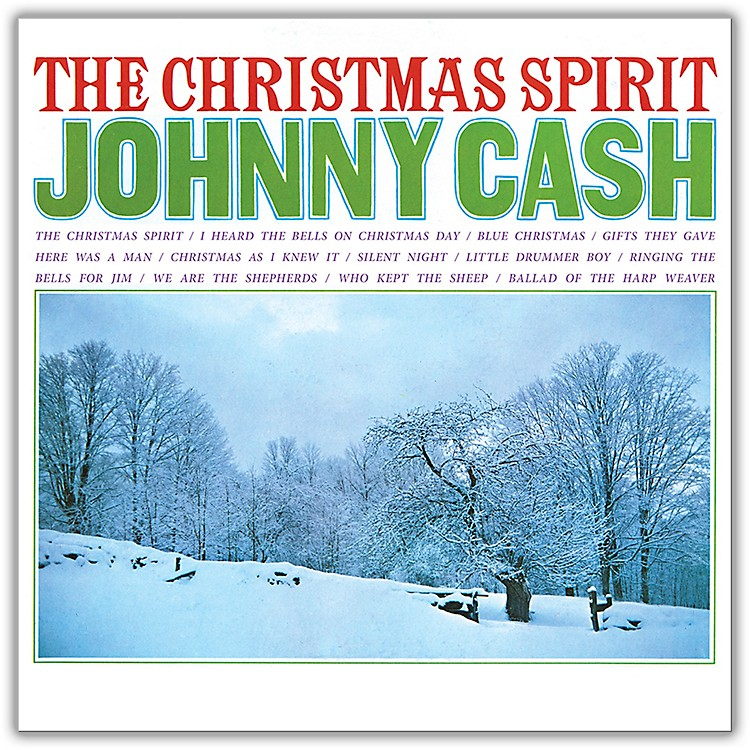 RED Johnny Cash - The Christmas Spirit